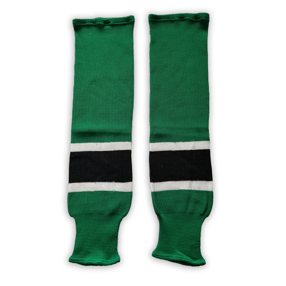 K1 Sportswear University of North Dakota Fighting Sioux Kelly Green Knit Ice Hockey Socks