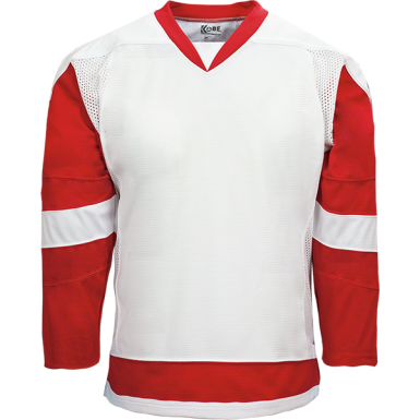Kobe Sportswear K3G00H Detroit Red Wings Home White Pro Series Hockey Jersey