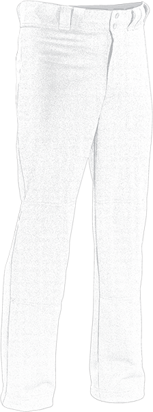 Kobe K3GBBP Dash White Baseball Pants