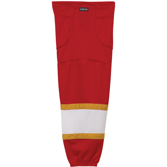 Kobe Sportswear K3GS28R Pro Series Florida Panthers Red Mesh Ice Hockey Socks