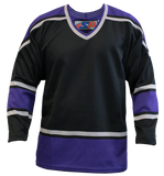 SP Apparel League Series Los Angeles Kings Black Sublimated Hockey Jersey
