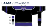 SP Apparel League Series Los Angeles Kings Black Sublimated Hockey Jersey - PSH Sports