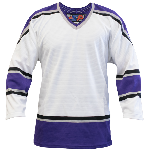 SP Apparel League Series Los Angeles Kings White Sublimated Hockey Jersey