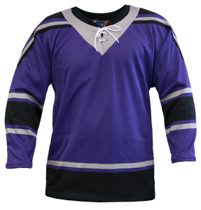 SP Apparel League Series Los Angeles Kings Purple Sublimated Hockey Jersey