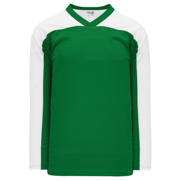 Athletic Knit (AK) LB153 Kelly Green/White Box Lacrosse Jersey