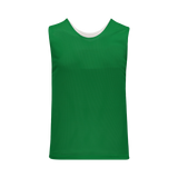 Athletic Knit (AK) LF302-210 Reversible Kelly Green/White Field Lacrosse Jersey