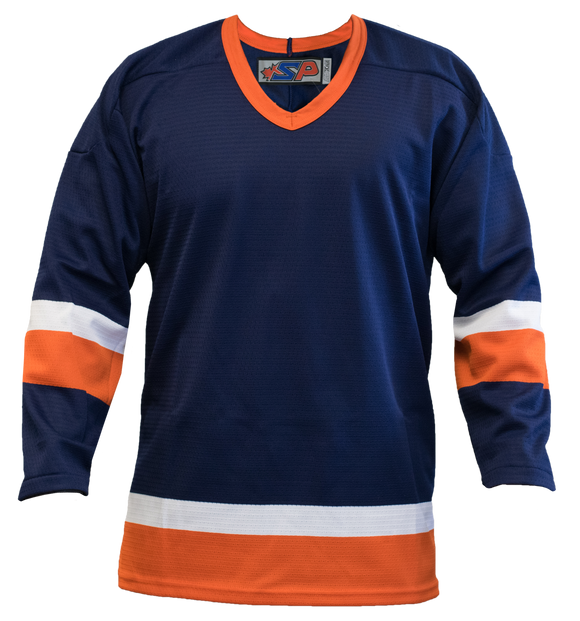 SP Apparel League Series New York Islanders Navy Sublimated Hockey Jersey