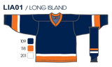 SP Apparel League Series New York Islanders Navy Sublimated Hockey Jersey - PSH Sports