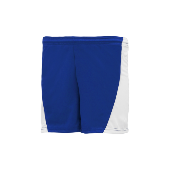 Athletic Knit (AK) LS605L-206 Royal Blue/White Ladies Field Lacrosse Shorts