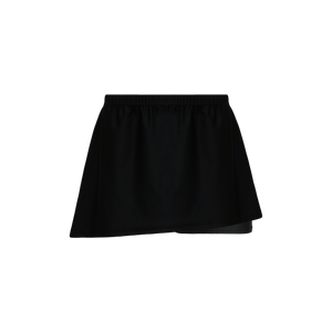 Athletic Knit (AK) LSK650 Black Field Lacrosse Skort