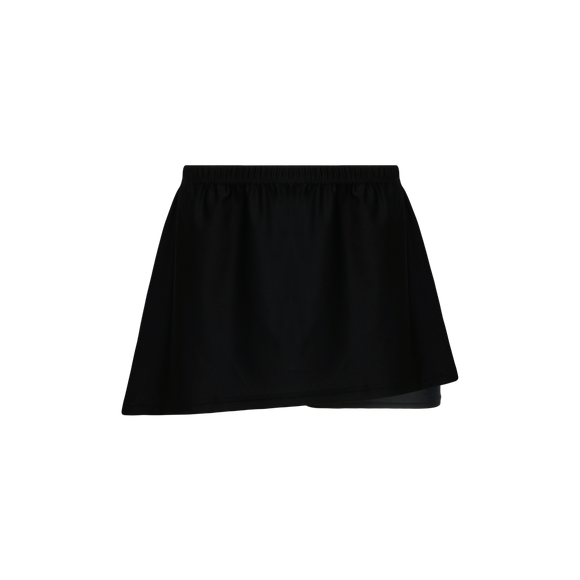 Athletic Knit (AK) LSK650-001 Black Field Lacrosse Skort