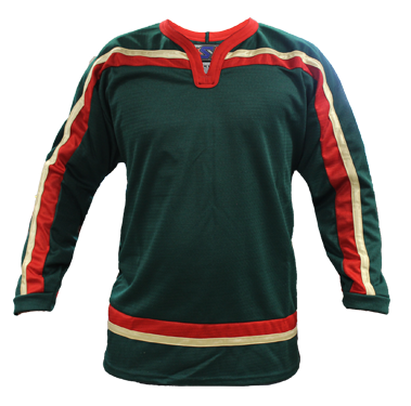 SP Apparel League Series Minnesota Wild Green Sublimated Hockey Jersey