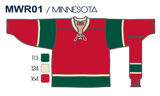 SP Apparel League Series Minnesota Wild Red Sublimated Hockey Jersey - PSH Sports