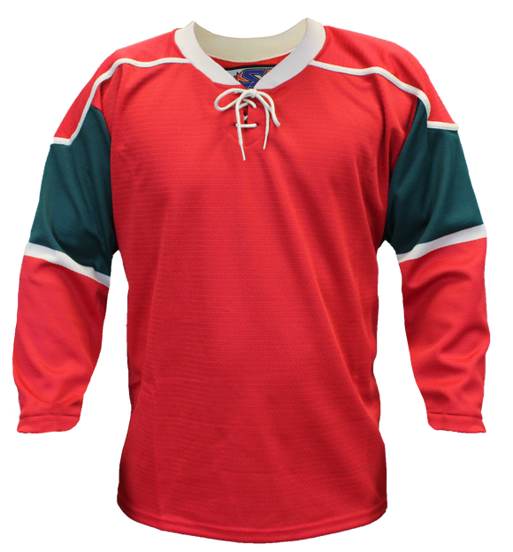 SP Apparel Evolution Series Minnesota Wild Red Hockey Jersey - PSH Sports