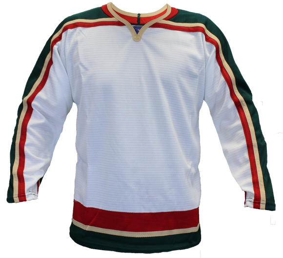 SP Apparel Evolution Series Minnesota Wild White Hockey Jersey - PSH Sports