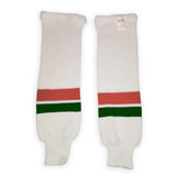 Modelline Knit Ice Hockey Socks - New Jersey Devils 1980's