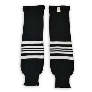 Modelline Knit Ice Hockey Socks - 2019 Chicago Blackhawks Winter Classic Black/White