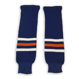 Modelline Knit Ice Hockey Socks - Edmonton Oilers 1980's