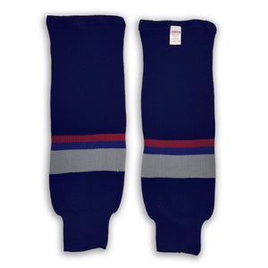 Modelline Knit Ice Hockey Socks - Vancouver Canucks 1998-2007 - PSH Sports