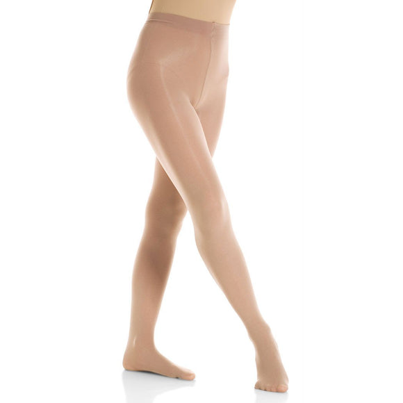 Mondor 3310 Semi-Opaque Footed Figure Skating Tights - PSH Sports