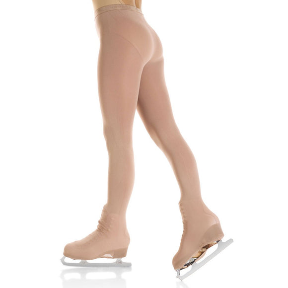Mondor 3338 Evolution Over The Boot Figure Skating Tights - PSH Sports