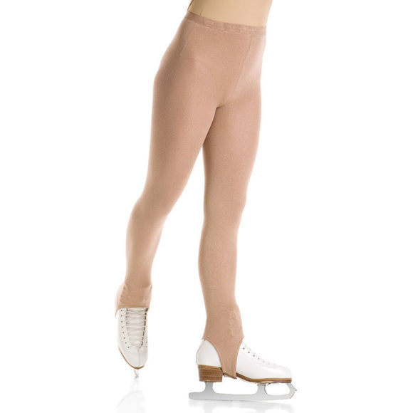Mondor 3374 Heavy Weight Opaque Stirrup Figure Skating Tights - PSH Sports