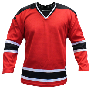 SP Apparel Evolution Series New Jersey Devils Red Hockey Jersey - PSH Sports