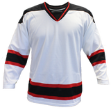 SP Apparel Evolution Series New Jersey Devils White Hockey Jersey - PSH Sports