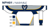 SP Apparel League Series Nashville Predators White Sublimated Hockey Jersey - PSH Sports
