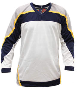 SP Apparel League Series Nashville Predators White Sublimated Hockey Jersey