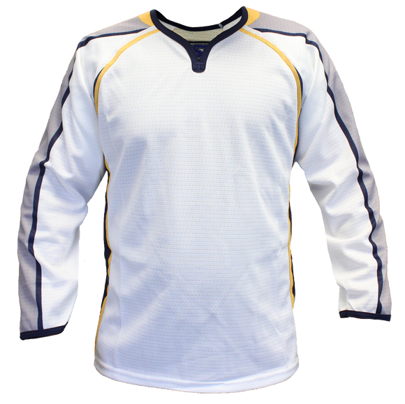 SP Apparel Evolution Series Nashville Predators White Sublimated Hockey Jersey - PSH Sports
