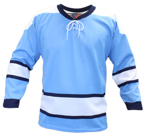 SP Apparel Evolution Series Pittsburgh Penguins Third Sky Blue Hockey Jersey - PSH Sports