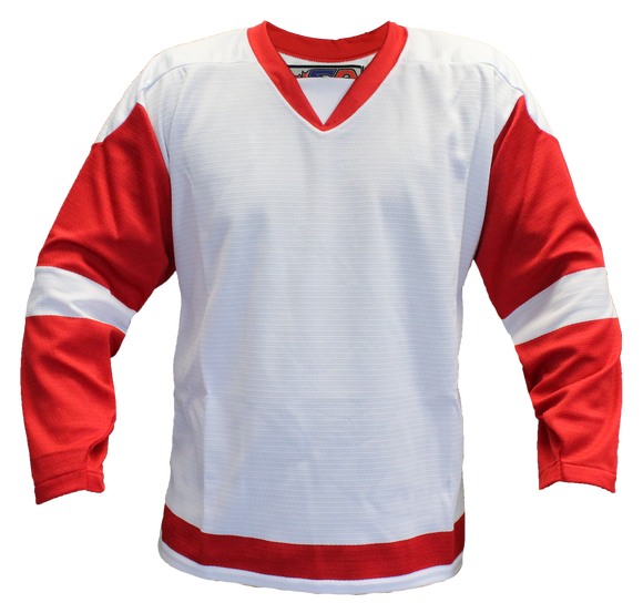 SP Apparel Evolution Series Detroit Red Wings White Hockey Jersey - PSH Sports