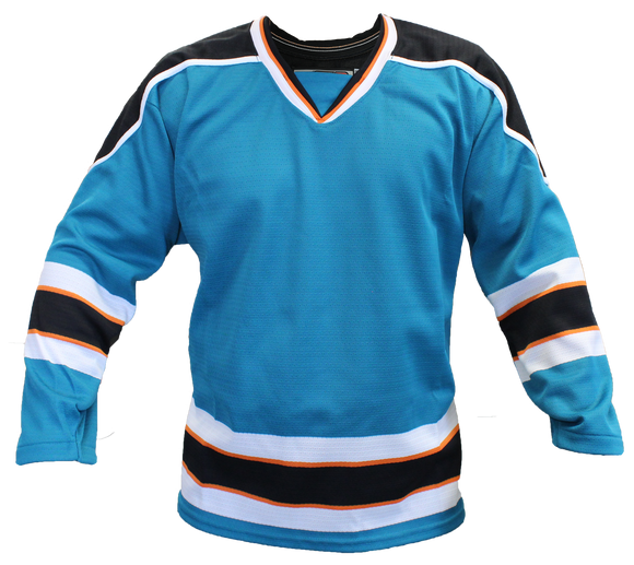 SP Apparel Evolution Series San Jose Sharks Teal Hockey Jersey - PSH Sports