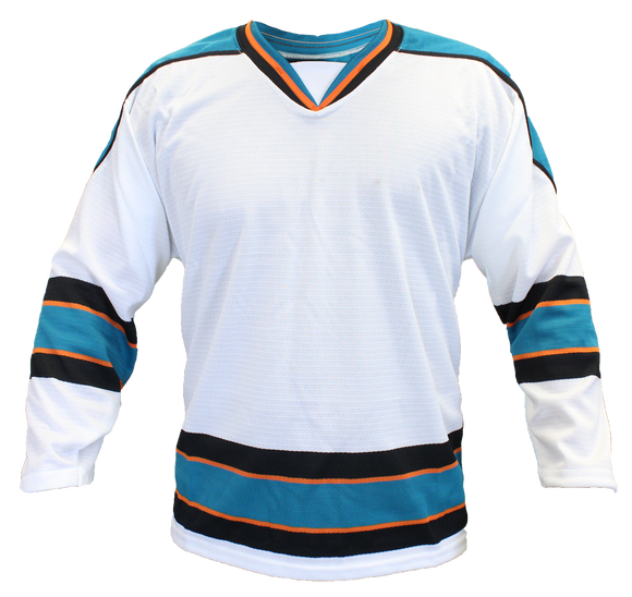 SP Apparel Evolution Series San Jose Sharks White Hockey Jersey - PSH Sports