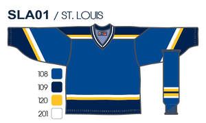 SP Apparel League Series St. Louis Blues Sublimated Hockey Jersey - PSH Sports
