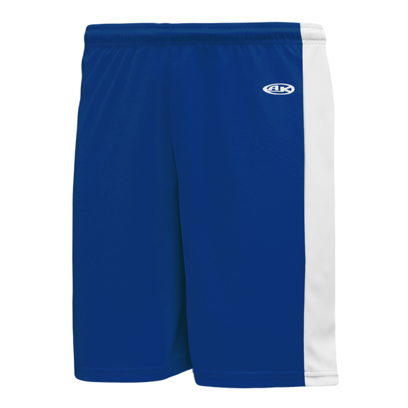 Athletic Knit (AK) LS9145 Royal Blue/White Field Lacrosse Shorts