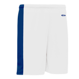 Athletic Knit (AK) LS9145 White/Royal Blue Field Lacrosse Shorts