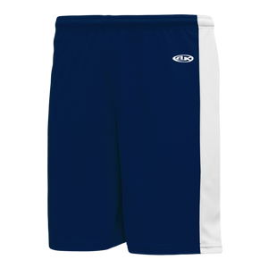 Athletic Knit (AK) LS9145 Navy/White Field Lacrosse Shorts