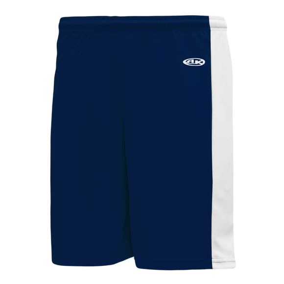 Athletic Knit (AK) LS9145-216 Navy/White Field Lacrosse Shorts