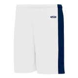 Athletic Knit (AK) LS9145 White/Navy Field Lacrosse Shorts