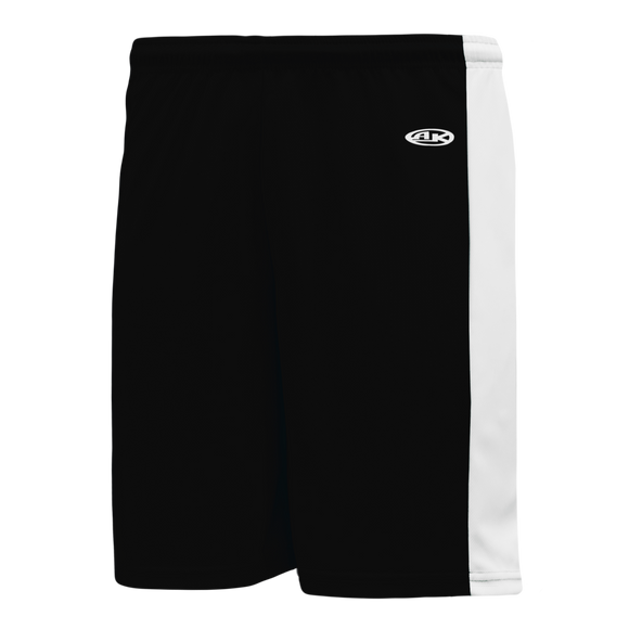 Athletic Knit (AK) LS9145-221 Black/White Field Lacrosse Shorts