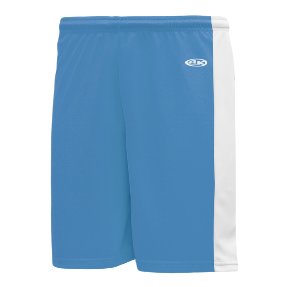 Athletic Knit (AK) LS9145-227 Sky Blue/White Field Lacrosse Shorts