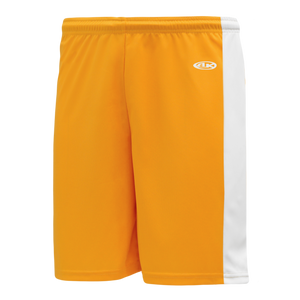Athletic Knit (AK) LS9145 Gold/White Field Lacrosse Shorts