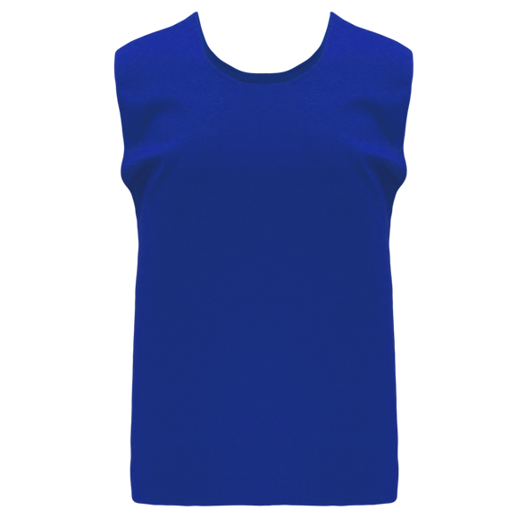 Athletic Knit (AK) SV100 Royal Blue Hockey Practice Scrimmage Vest/Pinnie