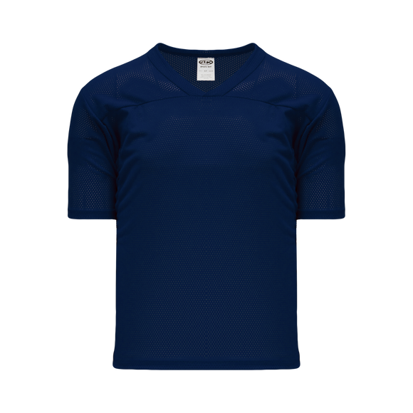 Athletic Knit (AK) TF151 Navy Touch Football Jersey