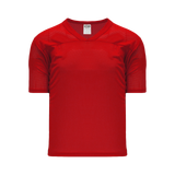 Athletic Knit (AK) TF151 Red Touch Football Jersey