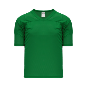 Athletic Knit (AK) TF151-007 Kelly Green Touch Football Jersey