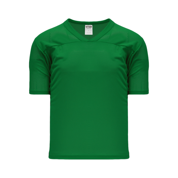 Athletic Knit (AK) TF151 Kelly Green Touch Football Jersey