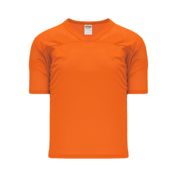 Athletic Knit (AK) TF151-064 Orange Touch Football Jersey